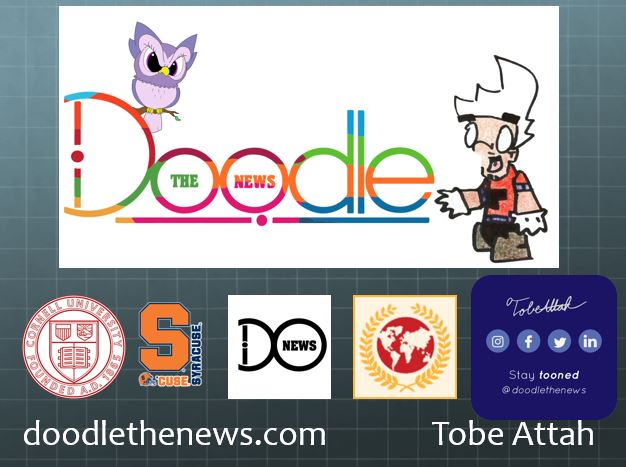 Doodle the news affiliate logos