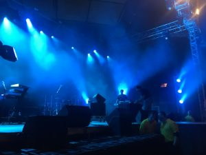 stage in preparation