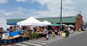 Outdoor stands at CNY Regional Market