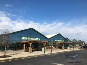 outside view of Chuck Hafners Farm Market and greenhouses